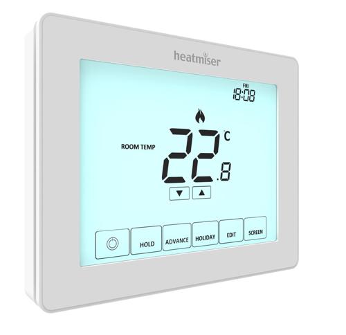 Touchscreen-thermostaten